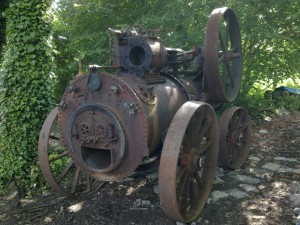 Pedro the Steam Engine - Before Restoration