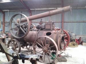 Pedro the Steam Engine - During Restoration